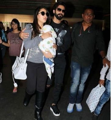 Shahid Kapoor's Princess Misha Makes Her First SOCIAL MEDIA MARKETING Appearance