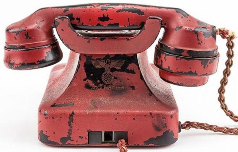 Adolf Hitler's Personal Telephone During World War II Is Up For Auction In The US