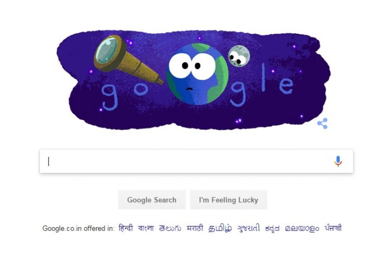 Google Celebrates NASA's Discovery Of Seven Earth-Like Planets With An Animated Doodle